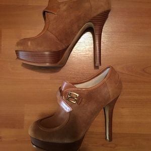 Michael Kors Platform Heeled Booties